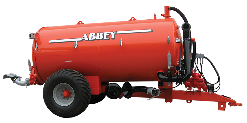 single axle slurry tankers